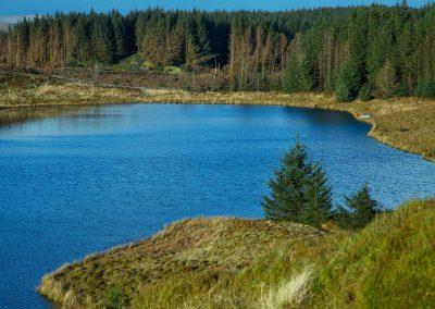 Troston Loch to be surrounded by Troston Loch Windfarm, Glenshimmeroch and Stroanshalloch wind farms.